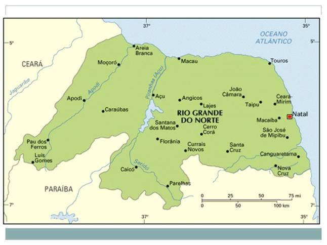 Mapa do R G Norte