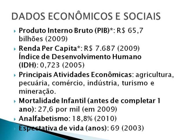Dados economicos
