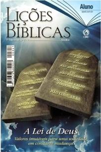 Capa revista LIÇÕES BÍBLICAS 1 trim 2015