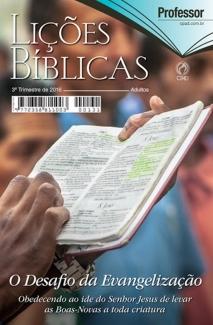 Lições Bíblicas Adulto 3 tri 2016